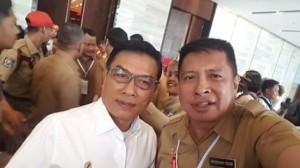 Drs Moudy L Pangerapan MAP, Rakornas Kehumasan dan Hukum