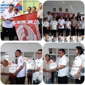 Launching Bantuan Beras Sejahtera, Wabup Legi Minta Penyaluran Tepat Sasaran