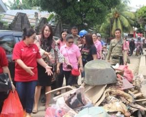 dampak banjir dan tanah longsor Manado
