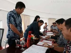 Pakta Intergritas Dan Perjanjian Kinerja Pejabat Pemerintah Kabupaten Minahasa Tenggara4