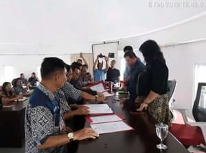Pakta Intergritas Dan Perjanjian Kinerja Pejabat Pemerintah Kabupaten Minahasa Tenggara5