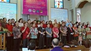 sidang tahunan dan konsultaai Am Gereja-Gereja di Suluteng,