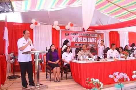 Royke O. Roring, Musrenbang Kecamatan Kakas