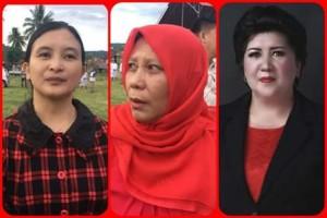 PDI-P Mitra ,  Stery Wurangian, Wahyuni Lakodi , Pileg 2019