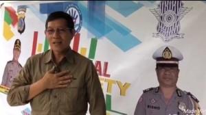 Wali Kota GSVL Ajak Masyarakat Dukung Pelaksanaan Millennial Road Safety Festival