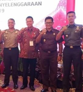 Forkopimda Mitra ,Rakornas Pemilu 2019, Drs Yesaya Legi