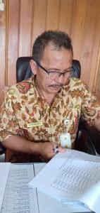 Kepala Dinas Kepemudaan dan Olahraga Drs Florensius V Karundeng