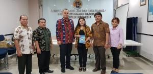 Komisi I DPRD Tomohon di Kementerian ATR/BPN