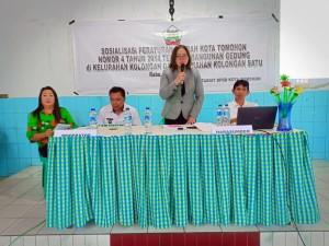 Sosialisasi Perda 4/2014 tentang Bangunan Gedung di Kolongan dan Kolongan Satu