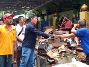 GSVL-Mor Pantau Langsung Lokasi Banjir dan Longsor
