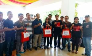 BNI dan IWO Kota Manado Salurkan Bantuan Bencana Banjir dan Tanah Longsor
