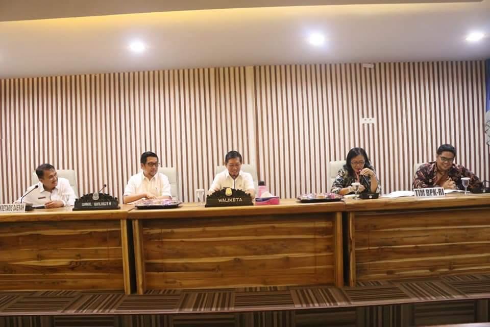 Audit BPK sulut, BPK audit Pemkot Manado, gs vicky lumentut, mor bastiaan