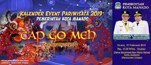 Diikuti 10 Klenteng, Besok Pemkot Manado Gelar Festival Cap Go Meh