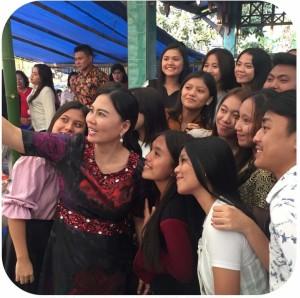Generasi Millennial Minahasa Tenggara Dukung Djein Leonora Rende di Pileg 2019