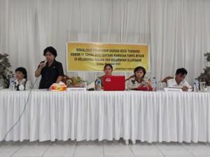 Sekretariat DPRD Tomohon Sosialisasi Perda KTR di Walian dan Uluindano