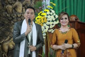 Wali Kota Tomohon JImmy F Eman SE Ak  (JFE) dan Wakil Wali Kota Syerly Adelyn Sompotan (SAS)
