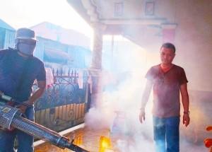 Jawab Kebutuhan Masyarakat, Tim Rajawali GSVL Lakukan Fogging