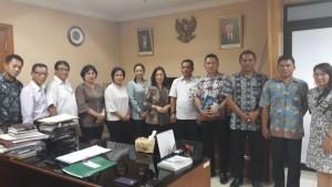 Pimpinan, Komisi III DPRD Tomohon di Kementerian Sosial RI