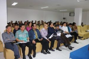 Anggota DPRD, tokoh agama dan tokoh masyarakiat yang hadir di Konsultasi Publik RKPD 2020