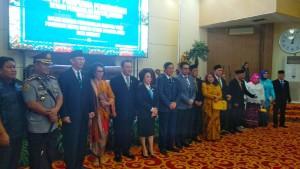 GSVL-Mor Hadiri Paripurna PAW Anggota DPRD Kota Manado