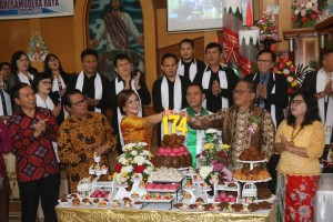Perayaan HUT ke-174 Jemaat GMIM Kakaskasen 'Pniel'