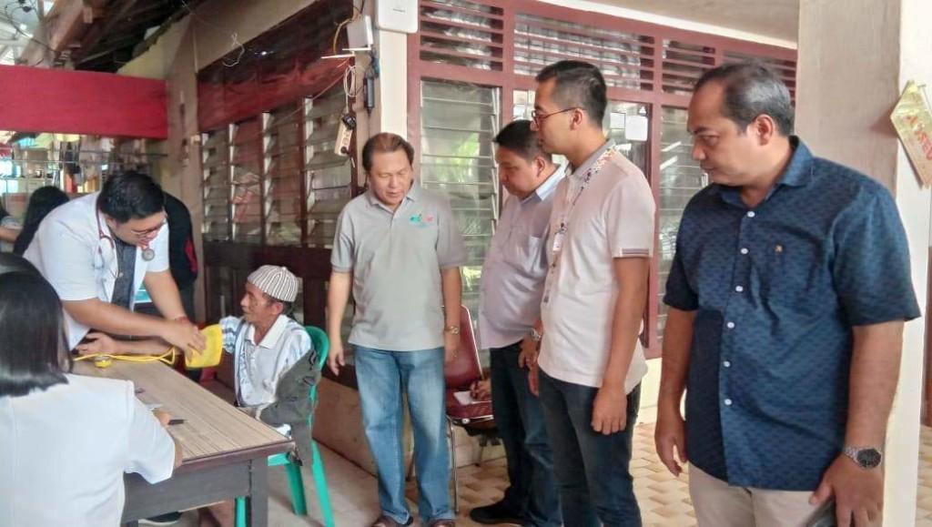 BNI Wilayah Manado Buka Posko Kesehatan di Kelurahan Bailang