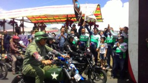 "Wali Kota Tomohon Jimmy F Eman SE Ak melepas Rally Wisata Motor """"Baron Tomohon''"