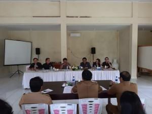 Komisi II DPRD Tomohon RDP dengan Distanakan