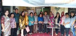 Tim Verifikasi, Tim Pembina serta Pengurus Forum dan Pokja Kota Sehat