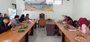 Sekretaris Kota Tomohon menyambut Tim Verifikasi Kota Sehat Provinsi Sulawesi Utara