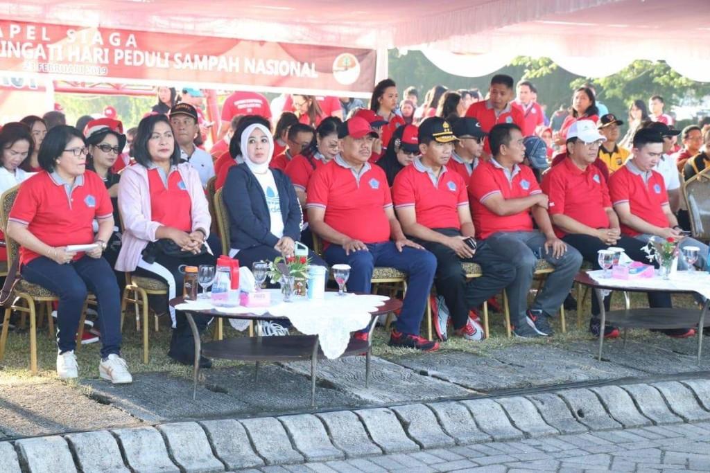 Ketua Wanita Selam Indonesia , WASI, Ny. Tri Tito Karnavian, Hari Peduli Sampah Nasional
