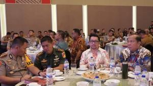 Wawali Mor Hadiri Rakornas Pemantapan Penyelenggaraan Pemilu 2019 di Makassar