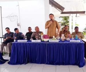 Sosialisasi Tata Cara Pemungutan Suara Pemilu 2019 di Kecamatan