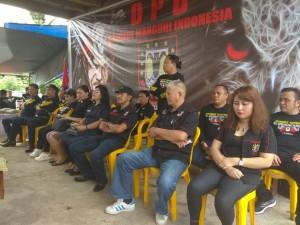 Kasat Pol PP dan Linmas Kota Tomohon Syske Wongkar SPd saat menghadiri kegiatan BMI