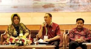Bupati Roring Jadi Narasumber dalam Rakor Penyelamatan Danau Prioritas Nasional di Kementerian LHK RI