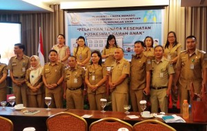 Dinas P3A Manado Gelar Pelatihan Tenaga Kesehatan Puskesmas Ramah Anak