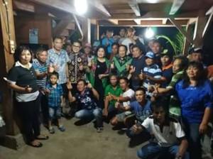 EE Mangindaan dan SBAN Liow Sosialisasi Empat Pilar di Desa Pakuure