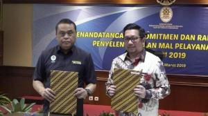 Pemkot Manado Tandatangani Komitmen Pembentukan Mal Pelayanan Publik Tahun 2019