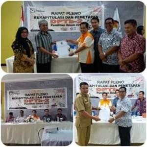 Gelar Rapat Pleno Terbuka, KPU Mitra Tetapkan DPTb-2
