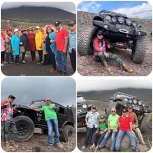 Bupati JS Bersama Para Jendral TNI Sambangi Gunung Soputan