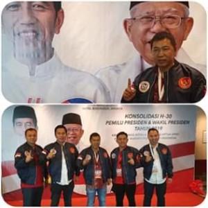 Hadiri Konsolidasi Pemilu 2019, James Sumendap Pastikan Jokowi-Ma'ruf Menang di Sulut