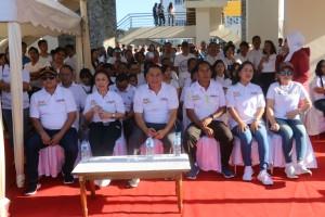 Wali Kota Tomohon, Ketua DPRD Tomohon bersama Kapolres Tomohon