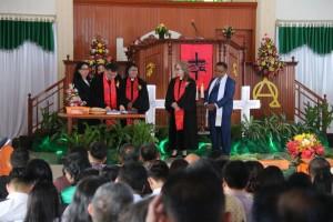 Serah Terima Ketua BPMJ GMIM Bukit Moria Rurukan