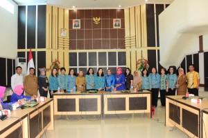TP-PKK Tomohon Kunker ke Kota dan Kabupaten Gorontalo