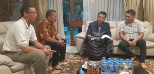Menpora Bahas Tomohon International Bridge Tournament dengan Kadispora