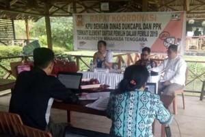 Jelang Pemilu 2019, KPU Bersama Disdukcapil Lakukan Penyesuaian NIK DPT
