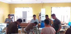 Jelang Pemilu, TNI-Polri dan Kejaksaan Mantapkan Koordinasi Dengan KPU Mitra