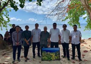 OD-SK Dampingi Menpar Arief Tinjau Lokasi Pembangunan KEK Pariwisata Likupang
