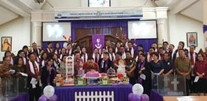 OD-SK Hadiri Ibadah Syukur HUT ke-52 dan Peresmian Pastori GMIM Eben Haezer Bumber