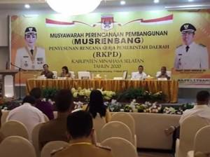 Musrenbang RKPD Tahun 2020,  RKPD minsel Tahun 2020